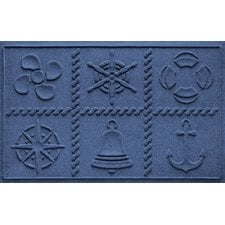 aqua-shield-nautical-themed-doormat Beach Doormats and Coastal Doormats