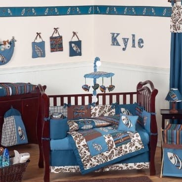 beach-crib-bedding The Best Nautical Quilts and Nautical Bedding Sets