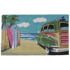 beach-cruiser-beach-doormat Beach Doormats and Coastal Doormats