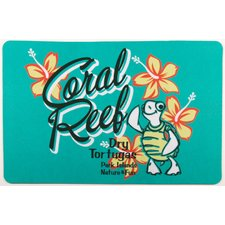 coastal-coral-reef-turtle-doormat Beach Doormats and Coastal Doormats
