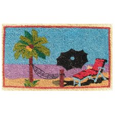 creel-beach-hammock-lounge-chair-doormat Beach Doormats and Coastal Doormats