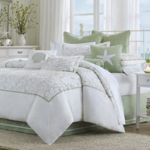 green-beach-soft-bedding-set-5-300x300 Ultimate Guide to Beach Themed Bedding Sets