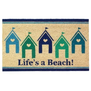 janis-beach-house-doormat Beach Doormats and Coastal Doormats