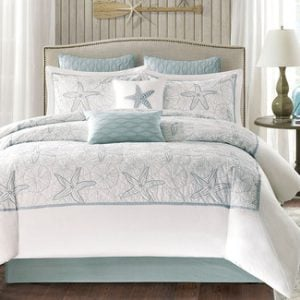 light-blue-maya-bay-bedding-collection-3-300x300 Ultimate Guide to Beach Themed Bedding Sets