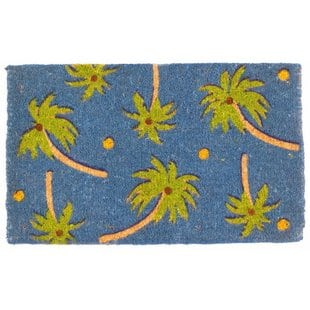 magic-led-palm-beach-doormat Beach Doormats and Coastal Doormats