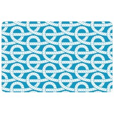 nautical-rope-knots-doormat Beach Doormats and Coastal Doormats