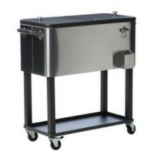 outdoor-stainless-steel-patio-cooler The Best Outdoor Coolers and Ice Chests