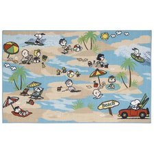 peanuts-comic-beach-theme-doormat Beach Doormats and Coastal Doormats
