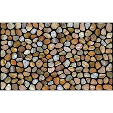 pebble-stones-beach-doormat Beach Doormats and Coastal Doormats