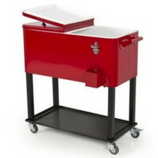 red-patio-cooler The Best Outdoor Coolers and Ice Chests