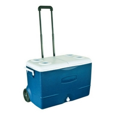 rubbermaid-ice-chest-cooler-wheeling The Best Outdoor Coolers and Ice Chests