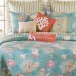 teal-and-coral-santa-catalina-quilt-set-12-150x150 The Best Palm Tree Comforter and Bedding Sets