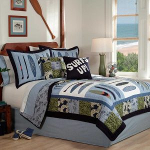 twin-4-beach-themed-bedding-sets-300x300 Ultimate Guide to Beach Themed Bedding Sets