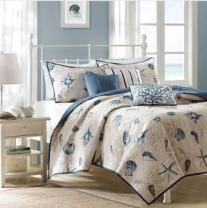 twin-8-beach-themed-bedding-sets-298x300 Ultimate Guide to Beach Themed Bedding Sets
