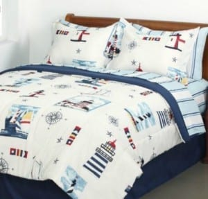 twin-9-beach-themed-bedding-sets-300x287 Ultimate Guide to Beach Themed Bedding Sets