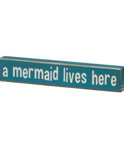 A-Mermaid-Lives-Here-Vintage-Coastal-Mini-Wood-Sign-8-in-0-247x296 100+ Wooden Beach Signs and Wooden Coastal Signs
