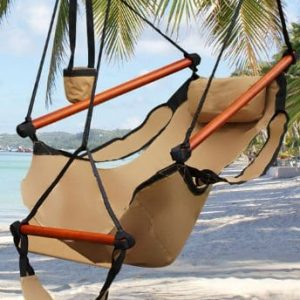 Best-Choice-Products-Hammock-Hanging-Chair-Air-Deluxe-Sky-Swing-Outdoor-Chair-Solid-Wood-250lb-Tan-0