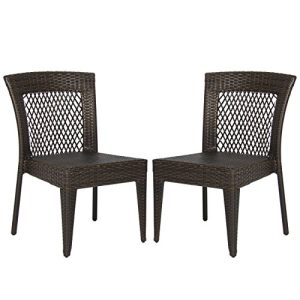 Best-Choice-Products-Outdoor-Wicker-Chairs-Patio-Dining-Backyard-Stackable-Garden-Furniture-Seat-Set-of-2-0
