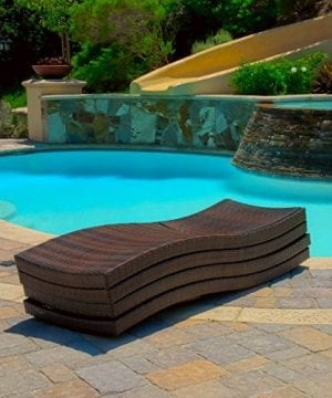 Lakeport Outdoor Adjustable Chaise Lounge Chair Set Of 4