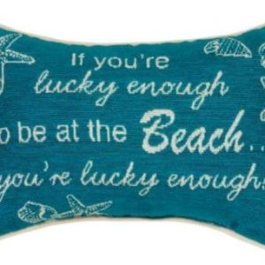 Manual-125-x-85-Inch-Decorative-Throw-Pillow-If-Youre-Lucky-Enough-0