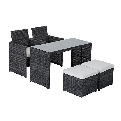 Outsunny-5-Piece-Outdoor-Rattan-Wicker-Furniture-Set-0 Best Outdoor Patio Furniture