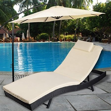 Tangkula-Adjustable-Pool-Chaise-Lounge-Chair-Outdoor-Patio-Furniture-Pe-Wicker-Wcushion-0-450x450 Best Outdoor Wicker Patio Furniture