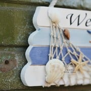 Welcome-Creative-home-Decorative-Hanging-Ornaments-Wood-Sign-Boat-Beach-Handcrafted-Nautical-Decor-0-1