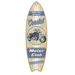coastal-motor-club-wooden-sign-300x300 100+ Wooden Beach Signs & Wooden Coastal Signs