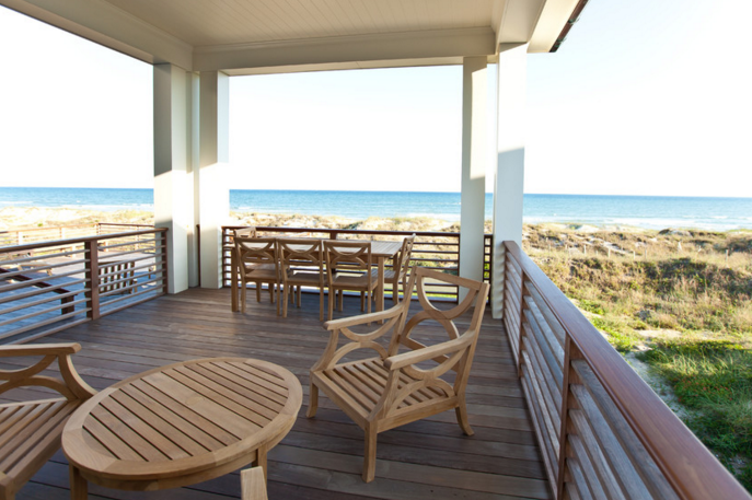 oceanfront outdoor teak patio furniture