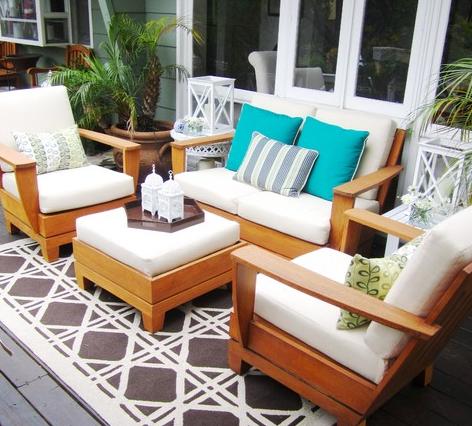 teak-patio-furniture-outdoor 51 Teak Outdoor Furniture Ideas