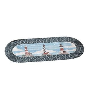 Collections-Etc-Lighthouse-Braided-Nautical-Runner-Rug-0-300x300 The Ultimate Guide to Nautical Themed Area Rugs