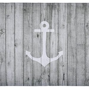 Floor-Mat-Vintage-White-Nautical-Anchor-on-Gray-Wood-Print-Non-slip-Rugs-Carpets-Alfombra-for-Indoor-Outdoor-0-300x300 The Ultimate Guide to Nautical Themed Area Rugs
