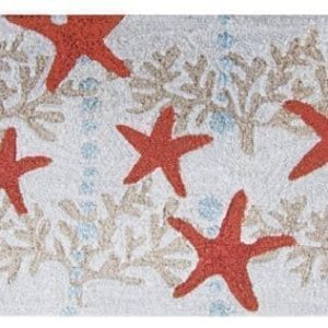 Homefires-Accents-Indoor-Rug-22-by-34-Inch-Starfish-and-Ocean-Coral-0-300x300 41 of Our Favorite Starfish Area Rugs