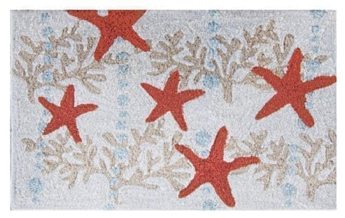 Homefires-Accents-Indoor-Rug-22-by-34-Inch-Starfish-and-Ocean-Coral-0