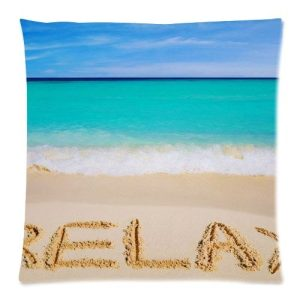 Hot-New-Arrival-Nautical-Beach-Ocean-Coastal-Sea-Sea-Summer-Beach-Relax-Waves-Water-Aqua-Teal-Blue-Mint-Pillow-Cases-18-x-18-0