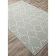 Jaipur-Modern-Trellis-Chain-and-Tile-Wool-Moroccan-Area-Rug-2-x-3-JadeiteSand-Shell-0-0