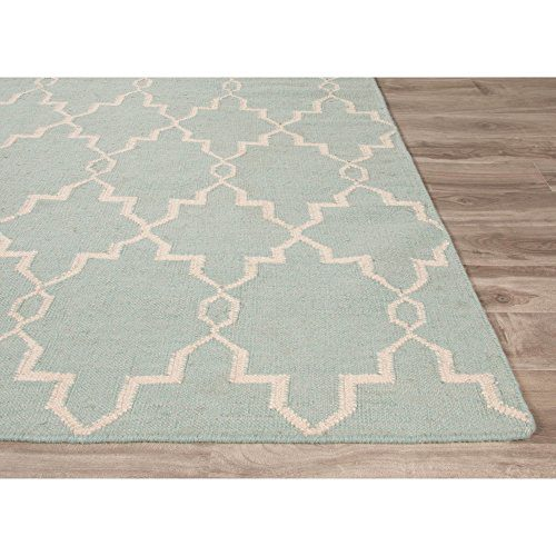 Jaipur Modern Trellis Chain And Tile Wool Moroccan