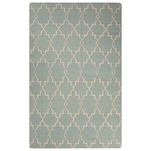 Jaipur-Modern-Trellis-Chain-and-Tile-Wool-Moroccan-Area-Rug-2-x-3-JadeiteSand-Shell-0