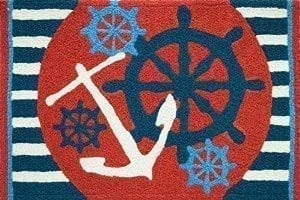 Jellybean-Anchors-Aweigh-Ships-Wheel-Nautical-Sailing-Area-Accent-Rug-0-300x200 The Ultimate Guide to Nautical Themed Area Rugs