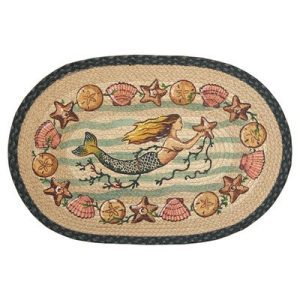 Mermaid-Starfish-Novelty-Rug-Rug-Size-Oval-18-x-26-0