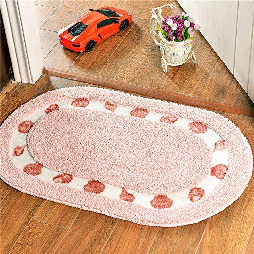 Decorative Seashell Pattern Gy Area Rug