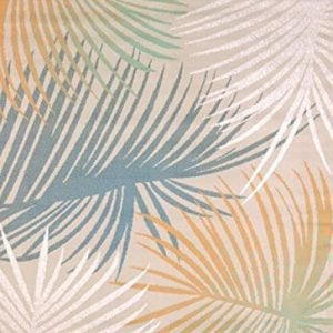 United-Weavers-of-America-Regional-Concepts-Palm-Leaves-Rug-5-3-by-7-2-Blue-0