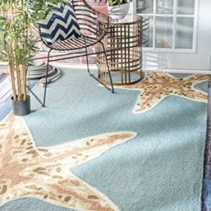 nuLOOM-200-508-Handmade-Starfish-IndoorOutdoor-Area-Rug-0-300x300 The Ultimate Guide to Nautical Themed Area Rugs