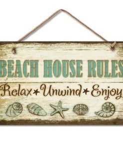 1-X-Beach-House-Rules-Relax-Unwind-Enjoy-Tropical-Weathered-Coastal-Sign-0-247x296 100+ Wooden Beach Signs and Wooden Coastal Signs