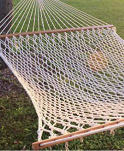 59-Double-Wide-Soft-Cotton-Rope-Hammock-That-Accomodates-for-Two-Great-Yard-Beach-Camping-Outdoor-and-Indoor-2-Pe-0