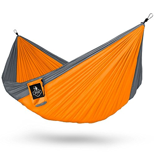 Archer-Outdoor-Gear-Archer-Double-Nest-Parachute-Camping-Hammock-Ropes-Carabiners-Included-0 The Best Outdoor Hammock Options You Can Buy