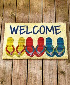 Beach-Coastal-Nautical-Theme-Welcome-Door-Mat-Rug-Front-Coir-Doormat-0
