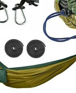 COMMANDO-STEVE-Camping-Hammock-Set-ULTRALIGHT-Military-Grade-Canvas-3x-Extra-Strength-Reinforcement-Agent-Extreme-Heavy-Duty-0