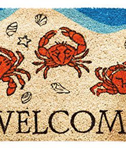 Crabby-Welcome-Coir-Mat-0
