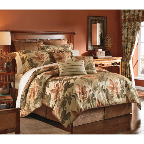 Croscill-Home-Fashions-Bali-4-Piece-Comforter-Set-0 Hawaii Themed Bedding Sets